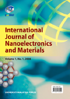 International Journal of Nanoelectronics and Materials