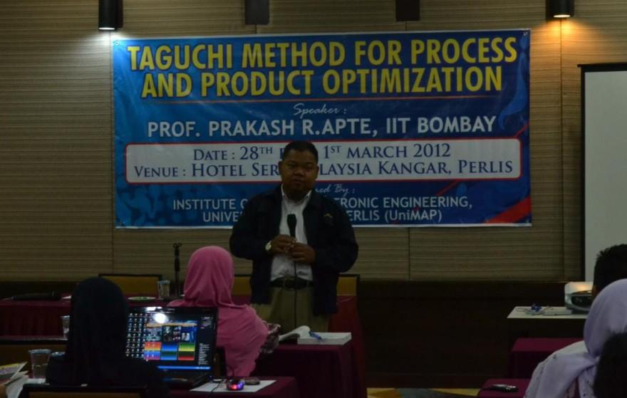 taguchi workshop
