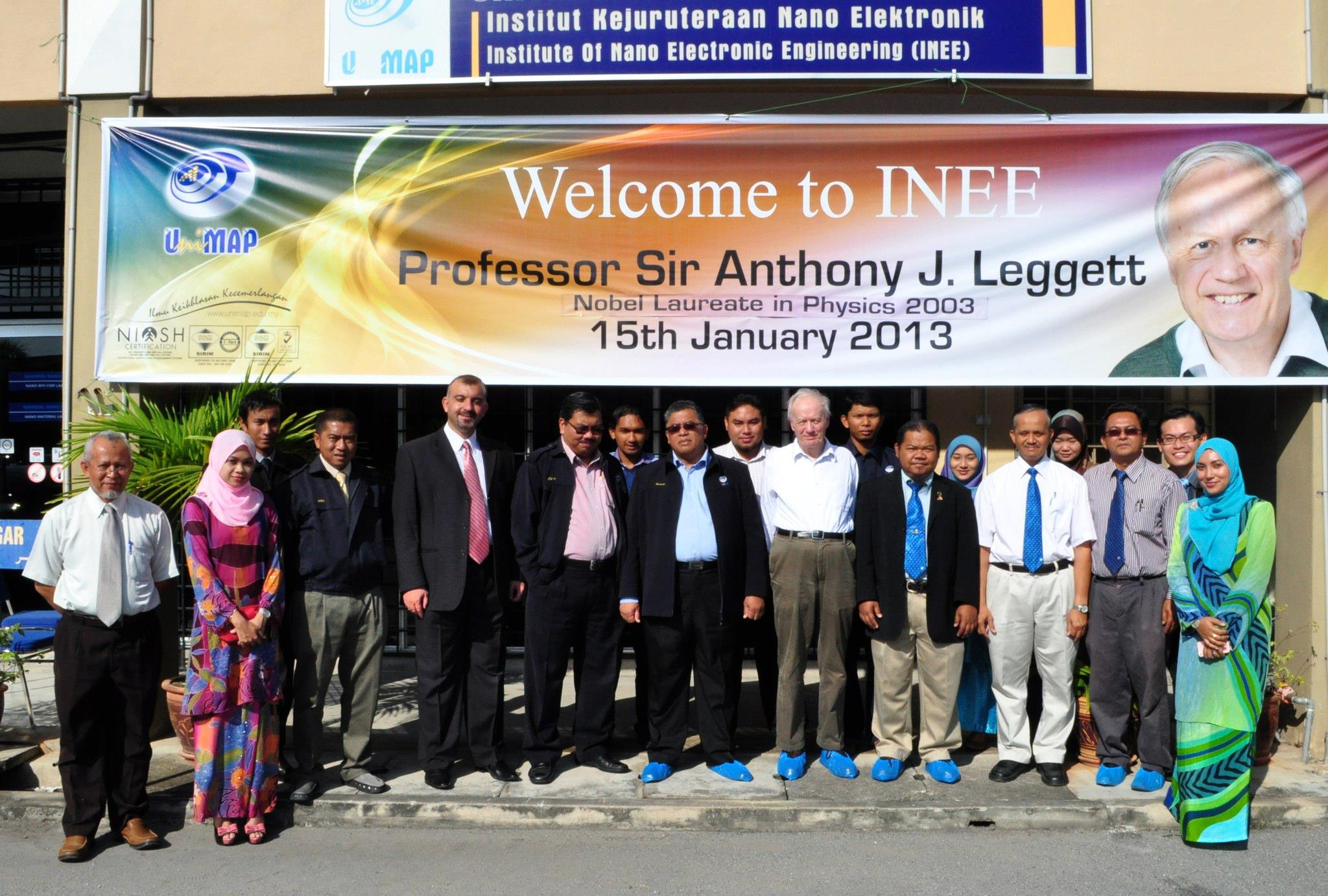 Visit From Prof. Sir Anthony J. Leggett