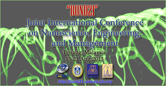 Joint International Conference on Nanoscience, Engineering, and Management