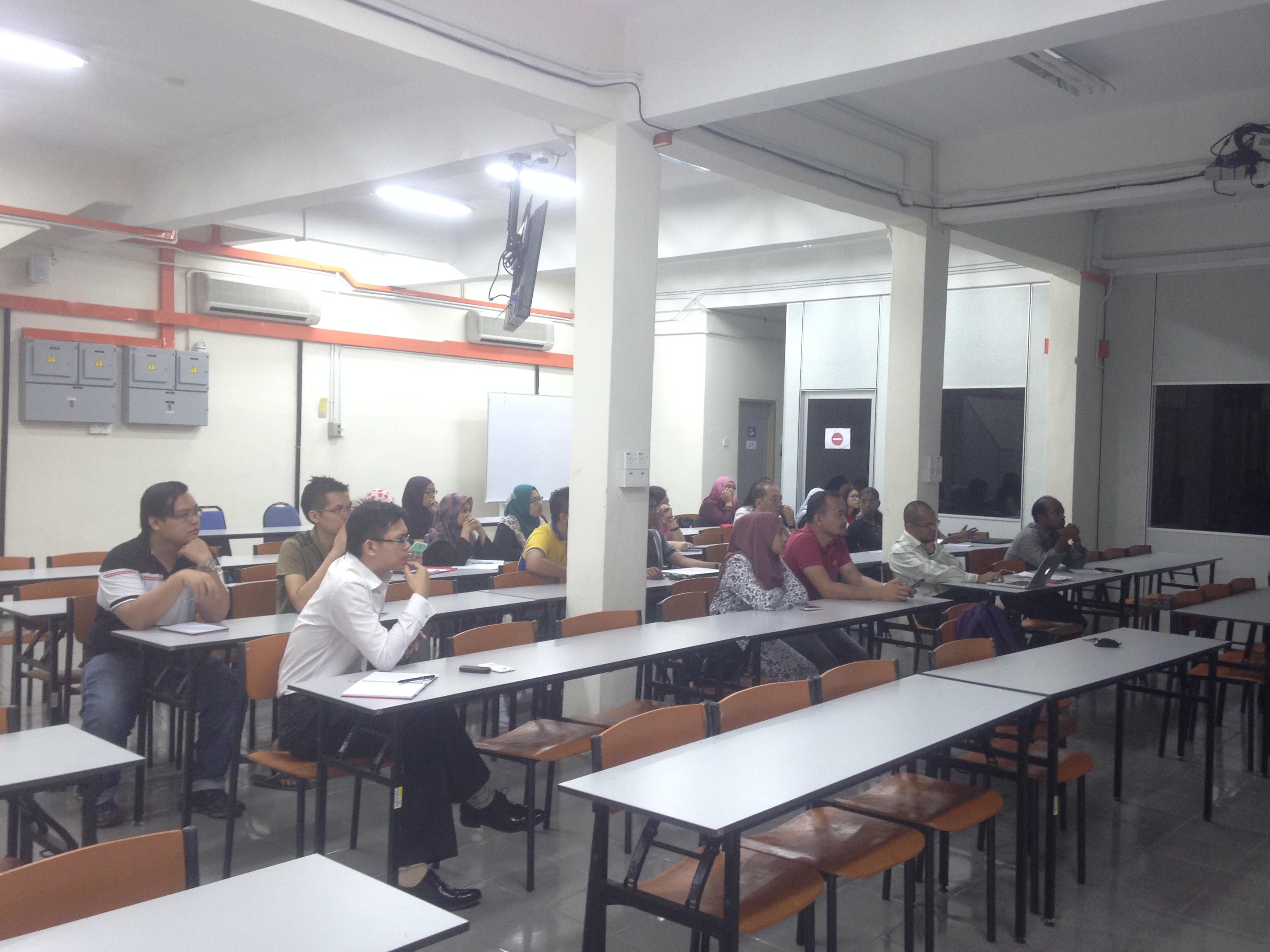 Weekly Presentation by Dr Nur Syakimah