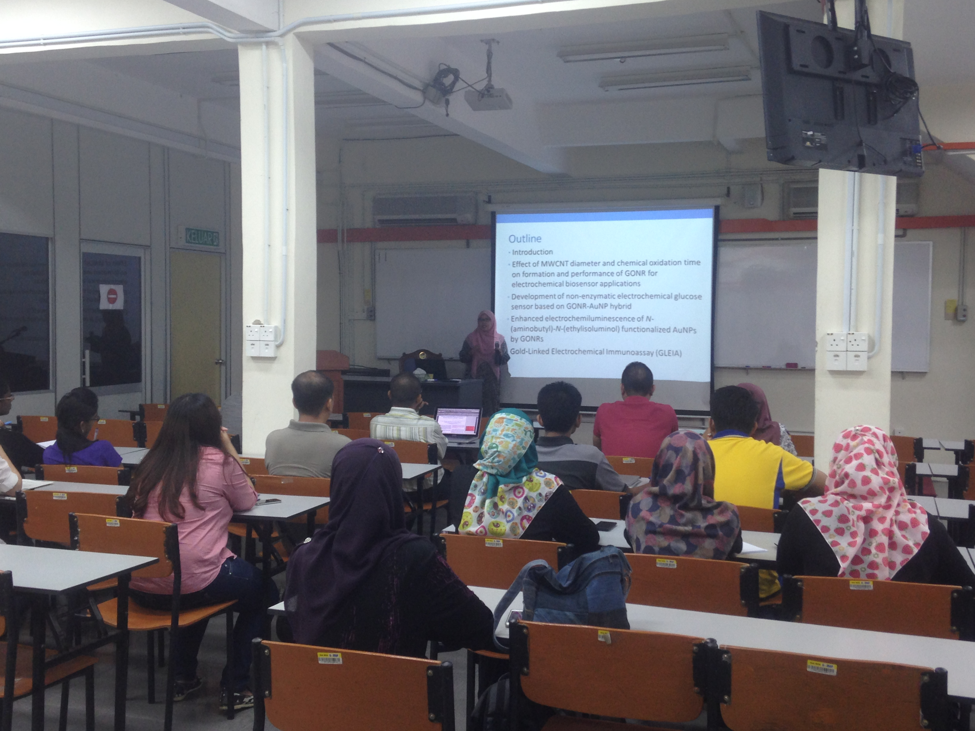 Weekly Presentation by Dr Nur Syakimah