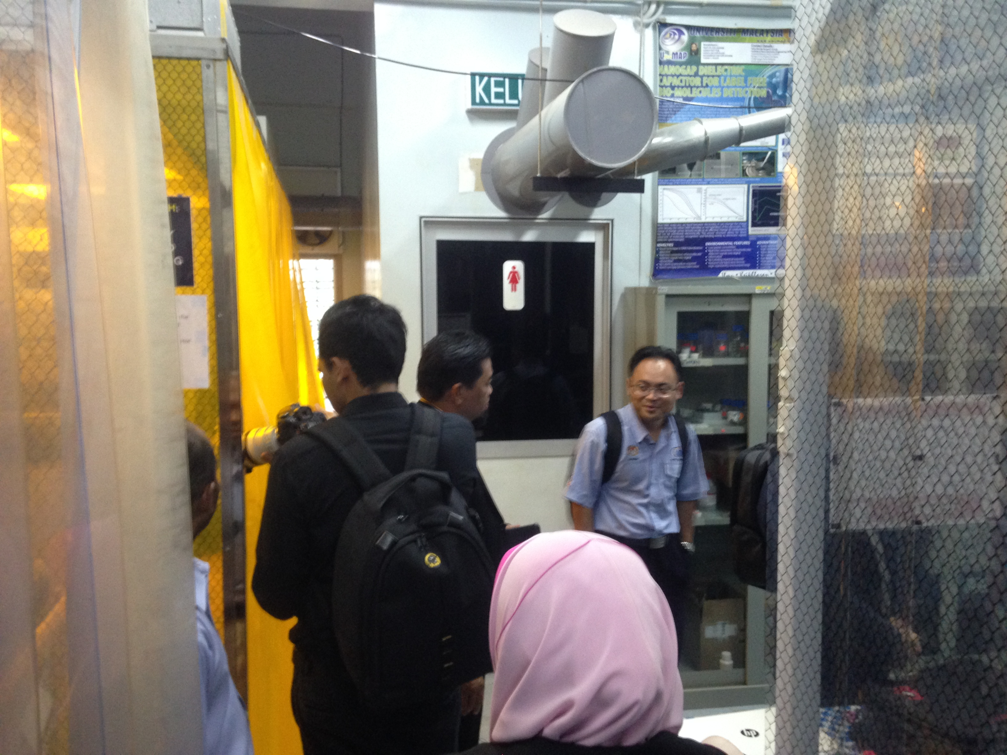 Visitor from ADTEC Taiping