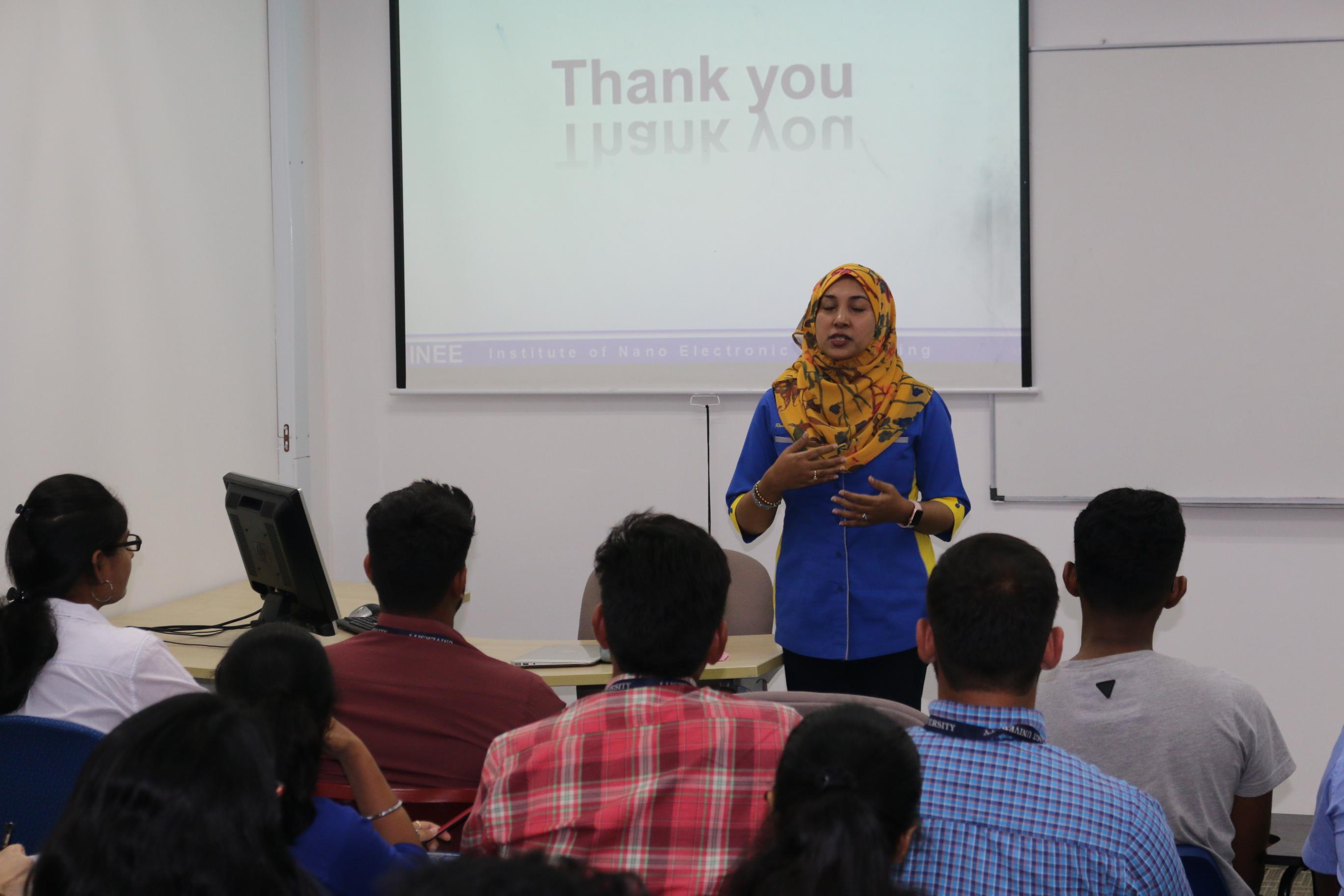 technical talk on nanotechnology
