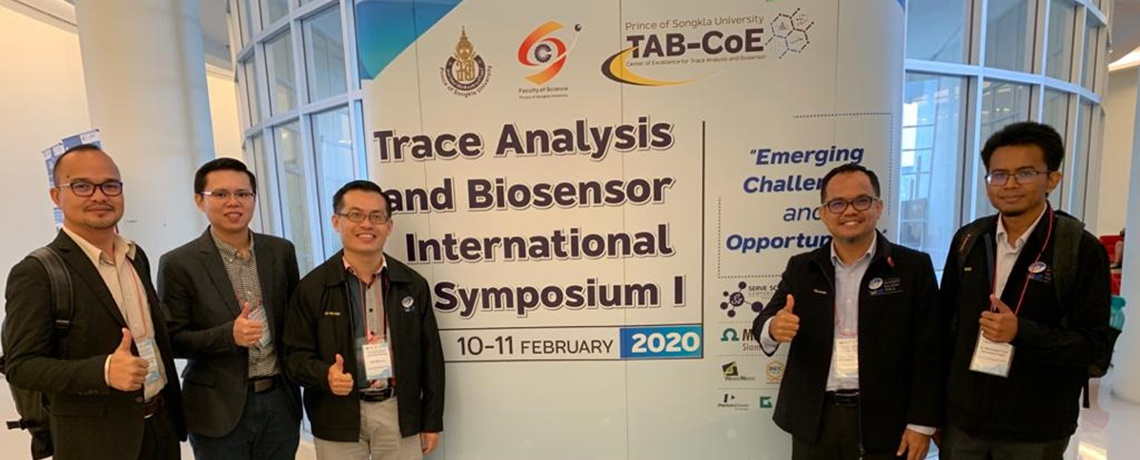 Trace Analysis and Biosensor International Symposium I: Emerging Challenges and Opportunities