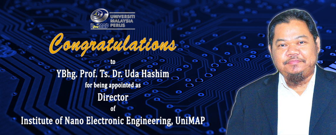 Prof. Ts. Dr. Uda Hashim Appointed as New Director of INEE